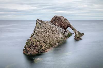 Bow Fiddle Rock Photograph - Bow Fiddle Rock - Scotland by Joana Kruse