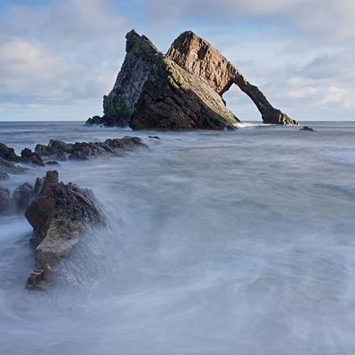 Photograph - Bow Fiddle Rock by Stephen Taylor