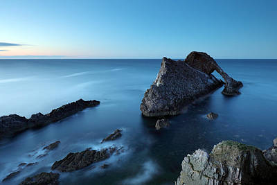 Bow Fiddle Rock Sunset Art Print by Grant Glendinning