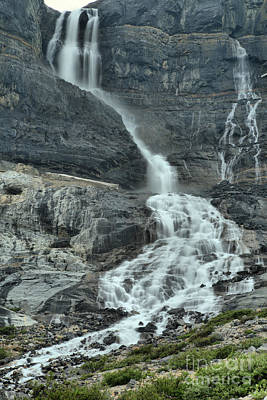 Photograph - Bow Glacier Falls At Banff by Adam Jewell