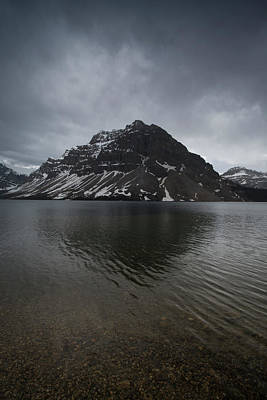 Photograph - Bow Lake, Alberta, Canada by David Stanley