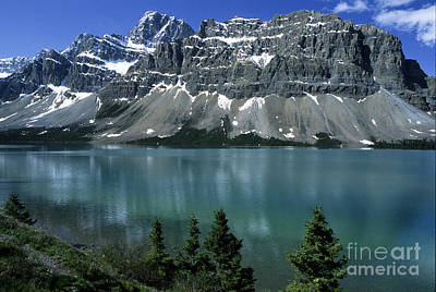 Photograph - Bow Lake Area by Sandra Bronstein