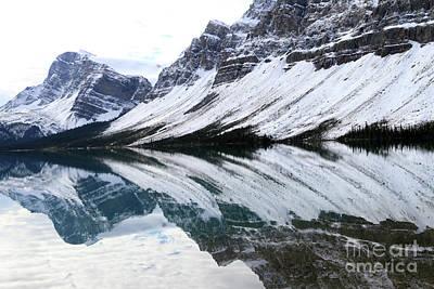 Photograph - Bow Lake by Paula Guttilla