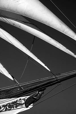 Photograph - Bow Of Tallship  by David Shuler