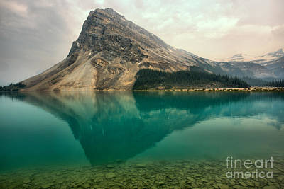 Photograph - Bow Peak Reflections by Adam Jewell