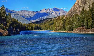 Photograph - Bow River by Heather Vopni