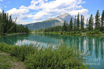 Photograph - Bow River In Banff by Carol Groenen