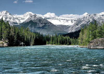 Photograph - Canadian Rockies by Jim Hill