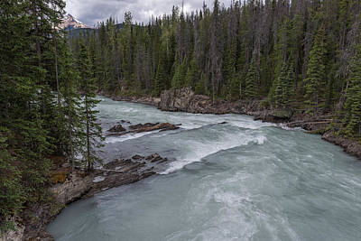 Photograph - Bow River Rapids by John Johnson