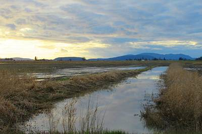 Photograph - Bow Sky And Reflection by Karen Molenaar Terrell