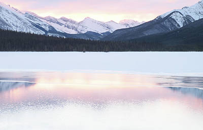 Sunrise Photograph - Bow Valley In Kananaskis Country by Carol Cottrell