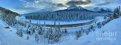 Photograph - Bow Valley River Giant Panorama by Adam Jewell