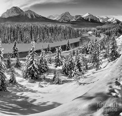 Photograph - Morant's Curve Black And White by Adam Jewell