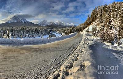 Bow Valley Winter Wonderland Print by Adam Jewell