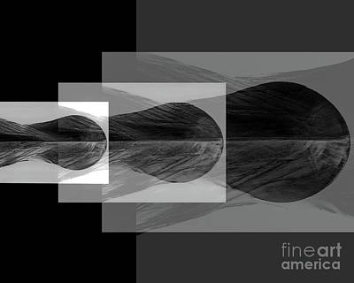 Digital Art - Bow Waves by Tim Richards