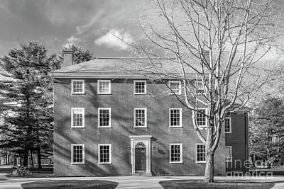 Photograph - Bowdoin College Massachusetts Hall by University Icons