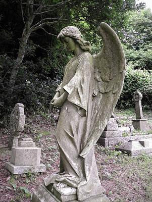 Photograph - Bowed Angel by Richard Brookes