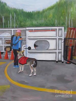 Painting - Bowen Ferry by Sandra Yuen MacKay