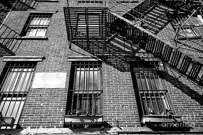 Photograph - Bowery Angles by John Rizzuto