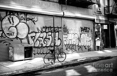 Photograph - Bowery Light by John Rizzuto