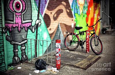 Photograph - Bowery Street Art by John Rizzuto