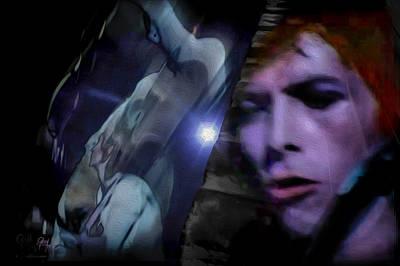 Photograph - Bowie   A Welcome Star by Glenn Feron