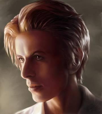 Digital Art - Bowie by Dana Scholle
