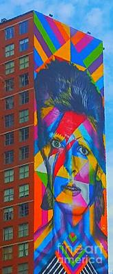 Bowie Art Print by Stacey Brooks