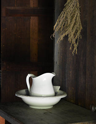 Photograph - Bowl And Pitcher - Still Life by rd Erickson