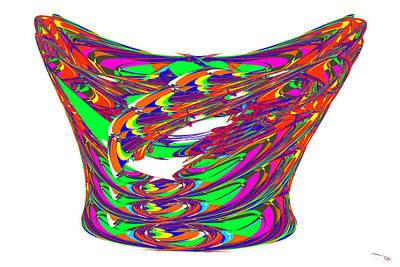 Digital Art - Bowl Art by Warren Lynn