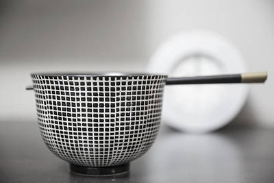 Bowl - Fortune Print by Cho Me
