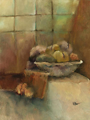 Bowl Of Fruit Art Print by M Allison
