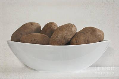 Photograph - Bowl Of Potatoes by Ella Kaye Dickey