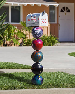 Photograph - Bowlers Mailbox by Kelley King