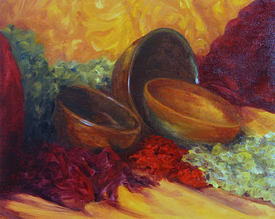 Painting - Bowlies by Connie Schaertl