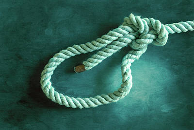 Photograph - Bowline Knot 2 by Steven Greenbaum