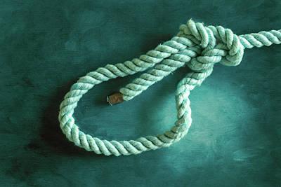 Photograph - Bowline Knot 2 by Steven Greenbaum