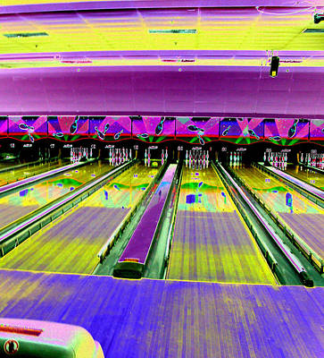 Bowling Alley Art Print by Peter  McIntosh