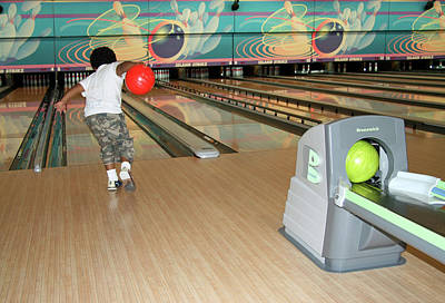 Photograph - Bowling by Cora Wandel