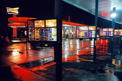 Photograph - Bowling Green Sonic Drive-in by James Rasmusson
