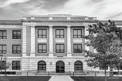 Photograph - Bowling Green State University Hayes Hall  by University Icons