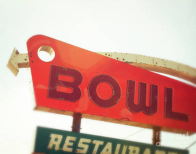 Bowling Alley Photograph - Bowling Here by Sonja Quintero