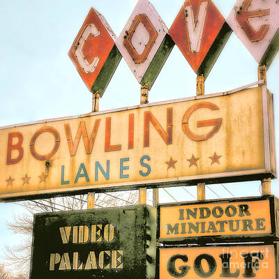 Sports Royalty-Free and Rights-Managed Images - Bowling by Raymond Earley