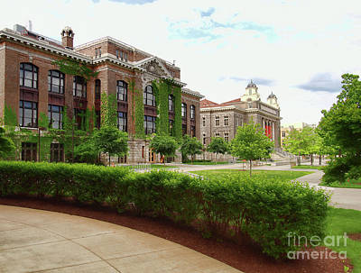 Photograph - Bowne Hall by Debra Millet