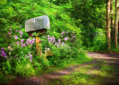 Spring Scenery Mixed Media - Box 75 by Lori Deiter