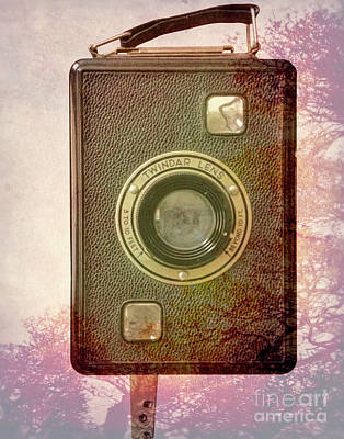 Photograph - Box Camera by Steven Parker