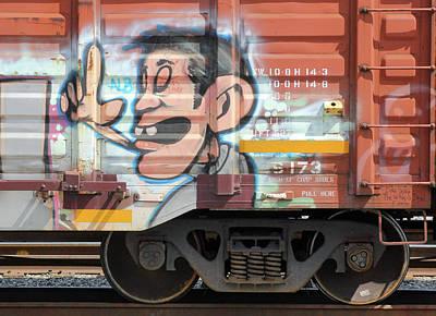 Photograph - Box Car Graffiti 30 by Joseph C Hinson Photography