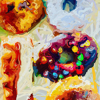 Photograph - Box Of Donuts by Modern Art