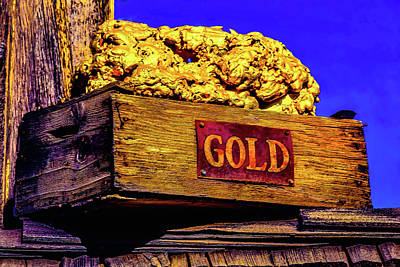 Photograph - Box Of Gold by Garry Gay