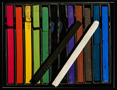 Photograph - Box Of Pastels by Pam Kaster